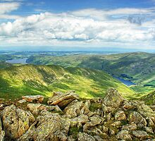 Haweswater and Rough Crag by VoluntaryRanger