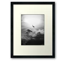 An Empty Sky Framed Print