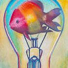 """Fish Bulb"" drawing by Ashazart by ashazart"