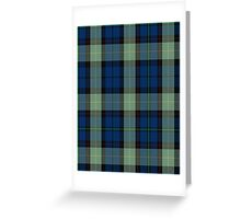 00508 Auchinachie Tartan  Greeting Card