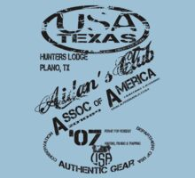 usa texas tshirts by rogers bros by usala