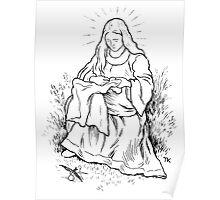 Theodor Kittelsen Jomfru Maria og svalen 1 Poster