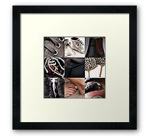 beyond the count series: 4 of 5 Framed Print