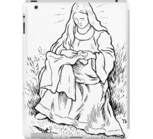 Theodor Kittelsen Jomfru Maria og svalen 1 iPad Case/Skin