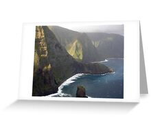 Helicopter View Greeting Card