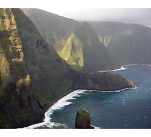 Helicopter View Photographic Print