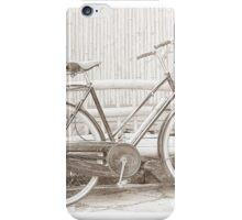 Vintage Ladies Raleigh Bicycle iPhone Case/Skin