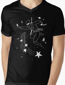 Space Ninja Mens V-Neck T-Shirt