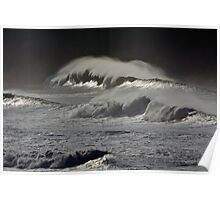 Waves of molten metal Poster