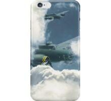 B17 in the clouds iPhone Case/Skin