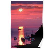 Harbour Sunrise  Poster