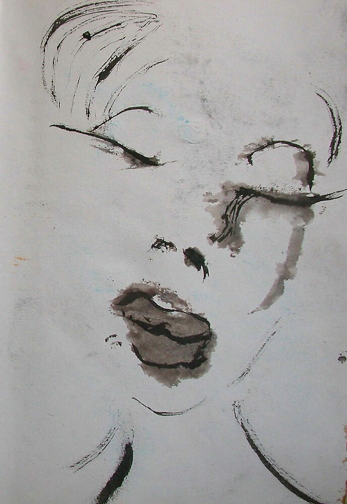 "Face, Bernard Lacoque-80 ""The Book of Ruth"" by ArtLacoque"