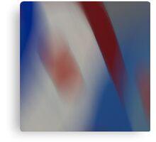 Crimson Stripe... Canvas Print