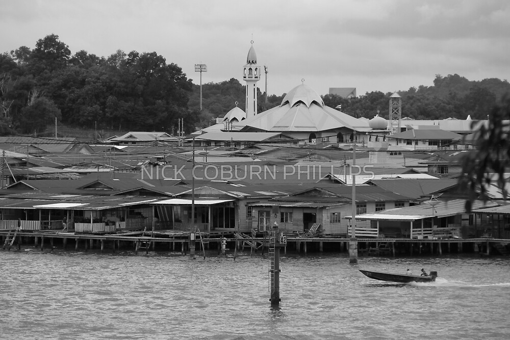 BRUNEI WATER VILLAGE by NICK COBURN PHILLIPS