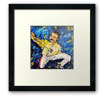 Here's Freddie Framed Print