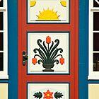 MVP39 Decorative Darss door,  Prerow, Germany. by David A. L. Davies
