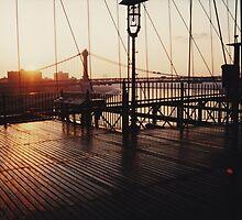 Brooklyn Bridge, New York August 2001 by DavidDArnold