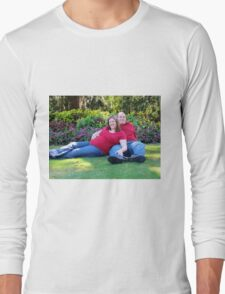 Relaxing in Airlie Gardens Long Sleeve T-Shirt