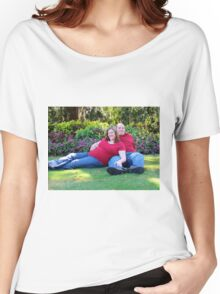 Relaxing in Airlie Gardens Women's Relaxed Fit T-Shirt