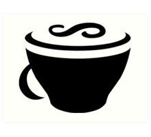 CoffeeScript Logo Art Print