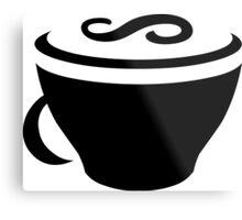 CoffeeScript Logo Metal Print