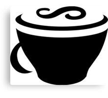 CoffeeScript Logo Canvas Print