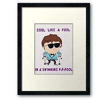 Jimmy is cool Framed Print