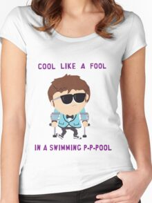 Jimmy is cool Women's Fitted Scoop T-Shirt