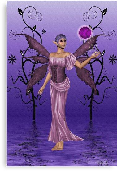 Shades of Indigo .. the fae enchantress by LoneAngel