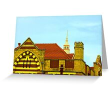 Fremantle Building (History) Greeting Card