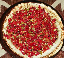 Dried Thai Chili Peppers by BettyEDuncan
