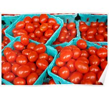 Little Red Tomatoes - Pike Place Market Poster