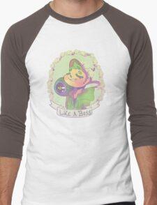Jacksepticeye -Flowers crown Men's Baseball ¾ T-Shirt