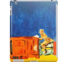 Rey on her Speeder iPad Case/Skin