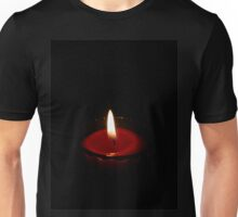 Red Candles in the Night  Unisex T-Shirt