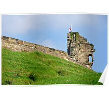 North Tower, Tutbury Castle Poster