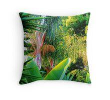Callifornia Jungle Throw Pillow