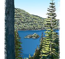 Lake Tahoe, California by MarkArt