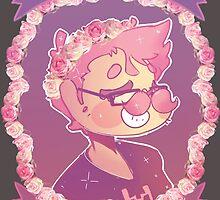 Markiplier - Flower crown by Cheapcookiez