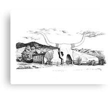 Longhorn Saloon, Arivaca, Arizona Canvas Print