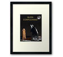 Scream with Orca Italian Framed Print