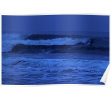 Night Surf Poster