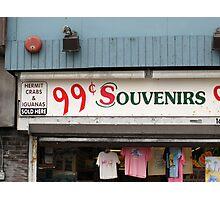 Atlantic City, New Jersey - Souvenir Store Photographic Print