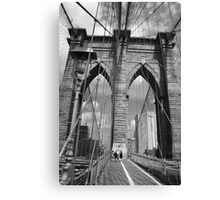 Brooklyn Bridge - New York City Canvas Print