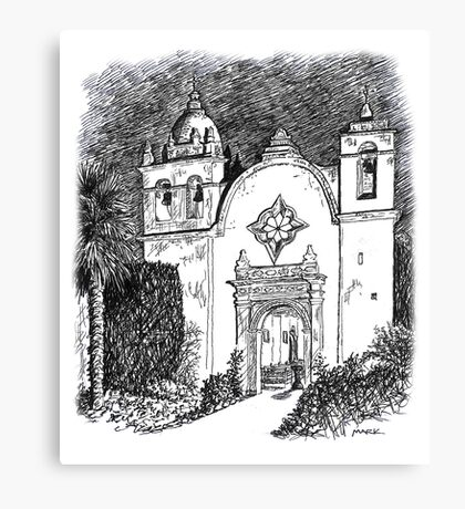 Carmel Mission, California Canvas Print