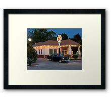 """The Filling Station"" Framed Print"