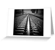Trackin' Greeting Card