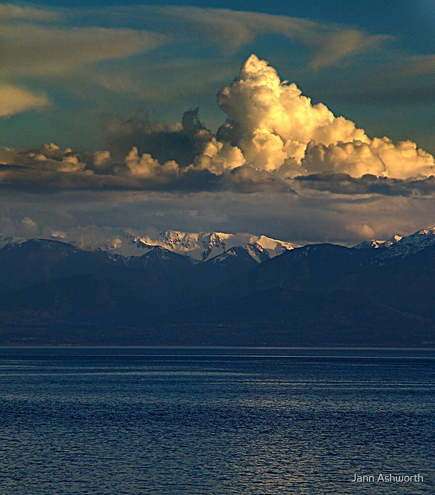 Cloud-Cap, Snow-Cap by Jann Ashworth