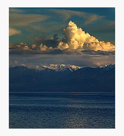 Cloud-Cap, Snow-Cap Photographic Print