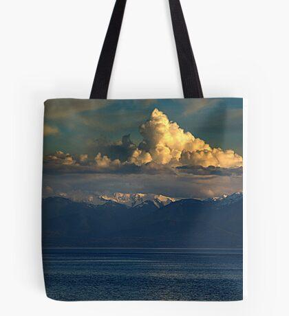 Cloud-Cap, Snow-Cap Tote Bag
